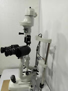 Ophthalmology 2 Step Haag Streit Type Slit Lamp With Accessories