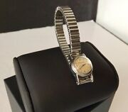 Jaeger Lecoultre Stainless Steel Back Wind Ladies Watch