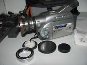 Panasonic Nv-ds28en Mini Dv Camcorder And Case Made In Japan Fully Tested Andworking