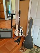 1960 Supro Dual Tone Vintage Marilyn Guitar And Case,1962'supro Super 1606 Amp