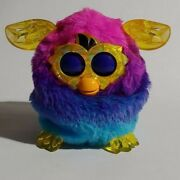 Furby Boom Crystal Series Pink Blue Electronic Talking Pet Ages 6+ Toy