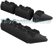 9and039 Long 26 Wide Mini Pontoon Boat Small Pontoon Boat Floats Pontoons Hdpe New