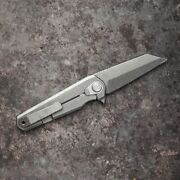 Magpul Knife Limited Edition Frame Lock Rigger Stonewashed Titanium In Hand