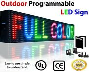 Full Color Led Signs Graphic Display Board 7 X 101 Store Shop Business Baord