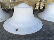 Antique Art Deco Hanging Pendant Light Used In Halle Bros. Dept.store Project