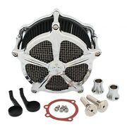 Cnc Contrast Cut Air Cleaner Intake Filter For Harley Sportster Iron Xl 48 91-20