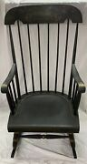 Antique Nichols And Stone Rocking Chair