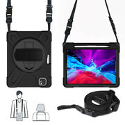 Kids Shockproof Armor Stand Case Shoulder Strap Cover F Ipad Air 4 Ipad 8 7 2020