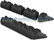 12' Long, 26 Wide Modular Plastic Boat And Dock Pontoons Logs Floats Pair New