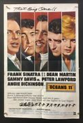 Oceanand039s 11 Original Movie Poster - Frank Sinatra Dean Martin Hollywood Posters
