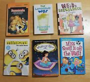 Mixed Lot Of 5 Paperback And 1 Hardcover Scholastic And Young Reader Novels