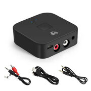 Bluetooth 5.0 Wireless Receiver Edr 3.5mm, 2rca Audio Adapter For Iphone Samsung