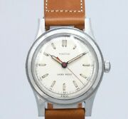 Minerva Original Dial Boys Size Manual Winding Vintage Watch 1940and039s