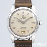 Omega Seamaster Calendar 2757-4sc Automatic Winding Vintage Watch 1954and039s