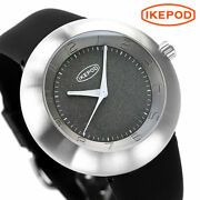 Ikepod Ipm101silb Automatic Silicon Rubber Sapphire Glass Gray Dial