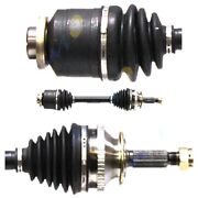 Cv Joint Axle Shaft Assembly Set Of 1 Front Left-and-right Lh And Rh For Santa Fe