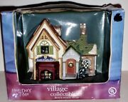 2003 Village Collectibles- Ron's Music Shop, New In Box, A Rare Find