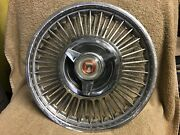 Used Ford Fairlane 1963 1964 14 Spoke Hub Cap With 3 Bar Spinner