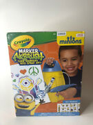 New Crayola Marker Airbrush Minions And 25 Stickers