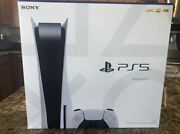 Sony Playstation 5 Console Disc Version Ps5 Brand New, Ships Now 🚚💨