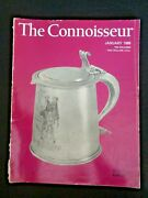 Jan 1966 The Connoisseur Magazine American Edition Carved Wood Church Benches