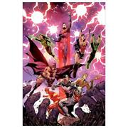 Dc Comics Justice League 3 Numbered Limited Edition Canvas By Tony Daniel