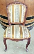 Dolls Chair..queen Anne Padded Tapestry Style..48x22x26cms Fit Lge.doll Or Teddy