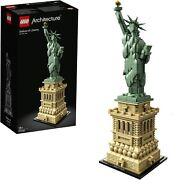 Lego 21042 Architecture Statue Of Liberty Model Building Set New-sealed