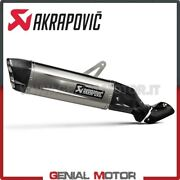 Exhaust Titan Approved Muffler Akrapovic Carbon End Honda Crf1100l Africa T 2020