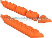 26x15and039 Dual Nose Mini Pontoon Boat Small Pontoon Boat Floats Pontoons Plastic