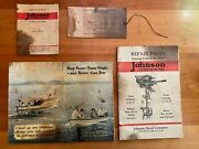 1925 Johnson A-25 Standard Fresh Water Outboard Motor W/ Portable Metal Suitcase