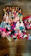Barbie Lot 28 Dolls Clothing Accessories Container Dalmation Bay Watch Boots