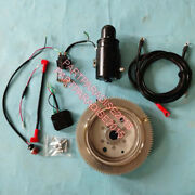 Electric Start Kit For Yamaha Outboard Engine 85hp 2t 688 85aet Flywheel