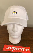 Supreme/ Nike Air Max Plus Running Hat White Os Fw20 Week 11 In Hand Brand New