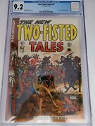 Two-fisted Tales 37 Cgc 9.2 1954 Ruby Ed Coffee App John Severin Art