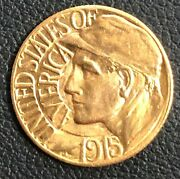 1915-s Panama Pacific Exposition One Dollar Gold Commemorative