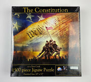 New The Constitution Evie Cook 1500 Piece Jigsaw Puzzle 24 × 33 51793mb