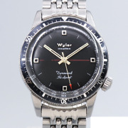 Wyler Dynawind Try Sport Automatic Winding Vintage Watch 1960and039s