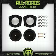 For 05-10 Jeep Wk Grand Cherokee Xk Commander 2.5 Fr + 2 Rr Spacers Lift Kit