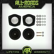 For 2006-2010 Jeep Xk Commander Full 3 Front + 2 Rear Steel Spacers Lift Kit