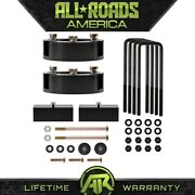 3 Front + 2 Rear Full Lift Kit For 2005-2020 Toyota Tacoma 4wd Diff Drop 6 Lug