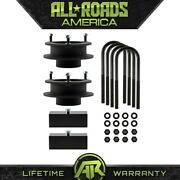 3 Front Spacers + 1.5 Rear Blocks Lift Kit 4 Axle Fits 03-13 Ram 2500 3500