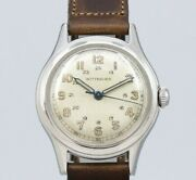 Wittnauer Arabic Index Original Dial Manual Winding Vintage Watch 1960and039s