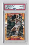 2019 Panini Prizm 3 Dennis Rodman Orange Ice Psa 10