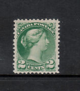 Canada 36e Extra Fine Never Hinged Perf 11.5 X 12 With Certificate