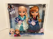 2017 Disney Frozen Singing Sisters Anna And Elsa Dolls Speak In English And Spanish
