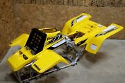 Yamaha Banshee Fenders Gas Tank Plastic Grill Graphics Black And Yellow 2006 50th