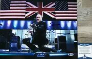 Pete Townshend Pinball Wizard Signed The Who 11x14 Photo Beckett