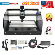 Us| 3018 Pro Max Cnc Router Mill Wood Small Engraver Laser Machine +hand Control