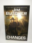 Roc Changes Dresden Files Hardcover Jim Butcher New Unread Free Shipping
